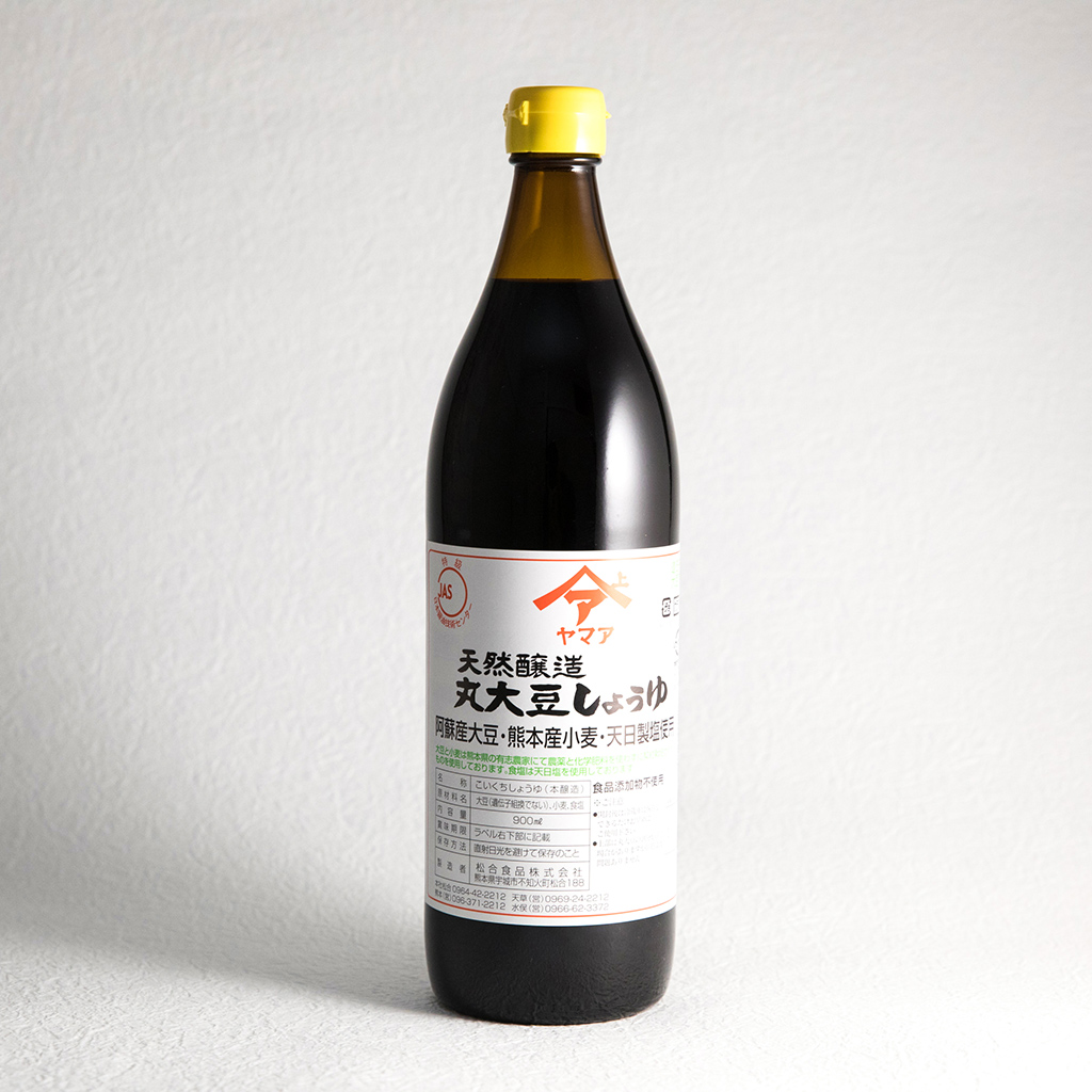 天然醸造丸大豆しょうゆ