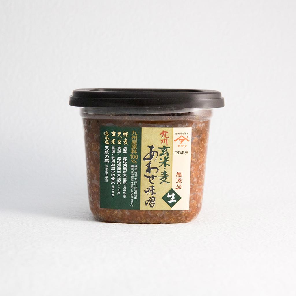 九州玄米・麦あわせ味噌