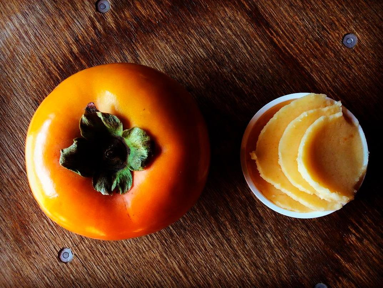 柿のシャーベット