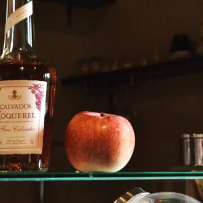 バニラとリンゴ酒のジェラート