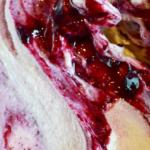ブルーベリーチーズのジェラート