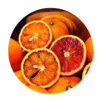 自然栽培 ブラッドオレンジのシャーベット