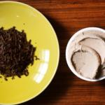 自然栽培ほうじ茶のジェラート