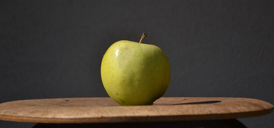 北上農園のリンゴ